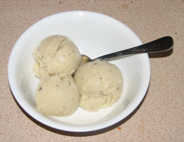 Ice cream-of-mushroom sundae