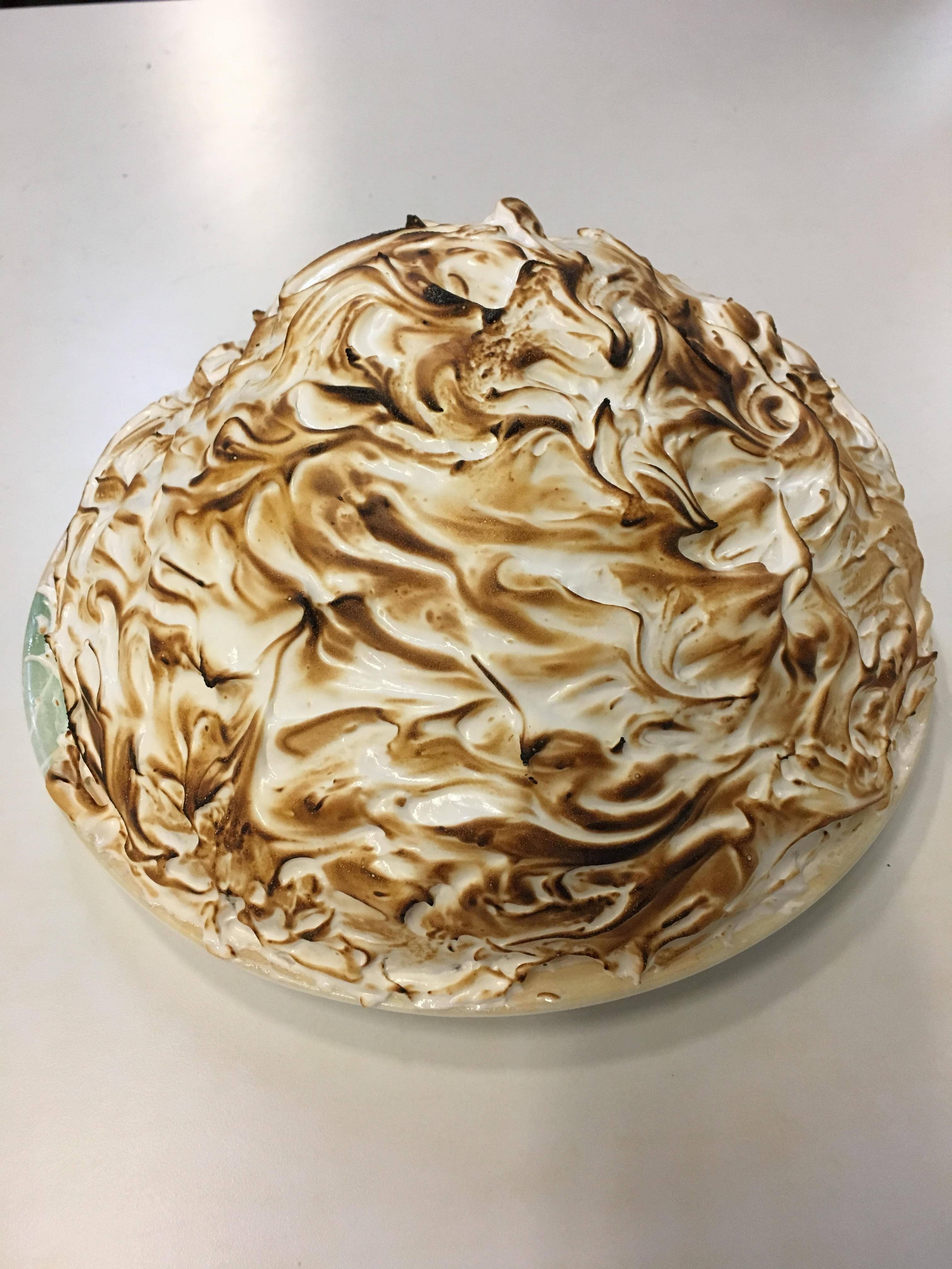 Baked Alaska.
